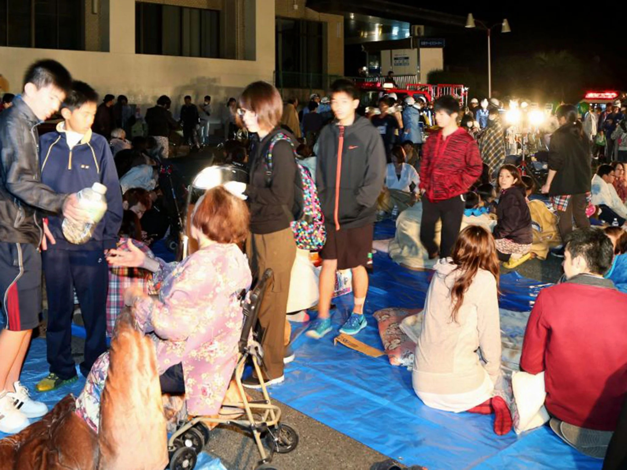 Japan Earthquake Of 6 4 Magnitude Hits South Of Country Injuring Hundreds