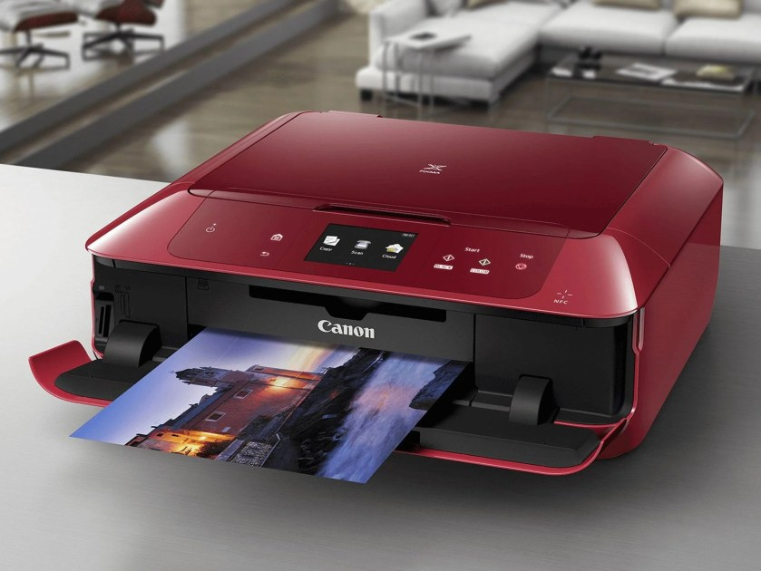 Image result for red computer and printers