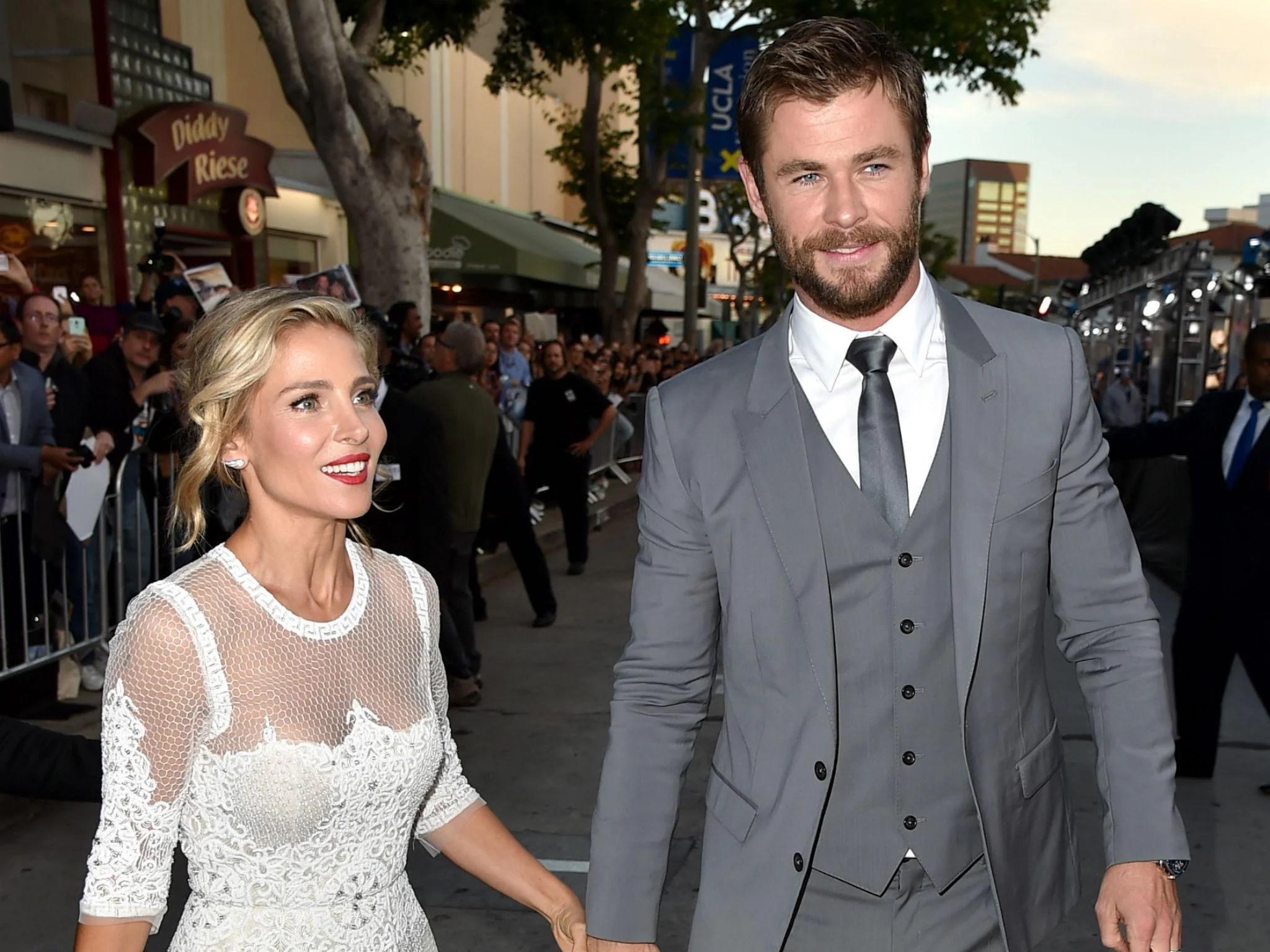 Elsa Pataky Chris Hemsworth Wedding 3