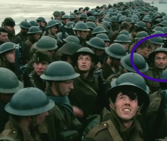 That Dunkirk Smiling Extra Fail Got Cut Out Of The Full Trailer The Independent