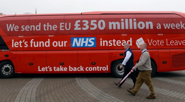 British public still believe Vote Leave '£350million a week to EU' myth  from Brexit referendum | The Independent | The Independent