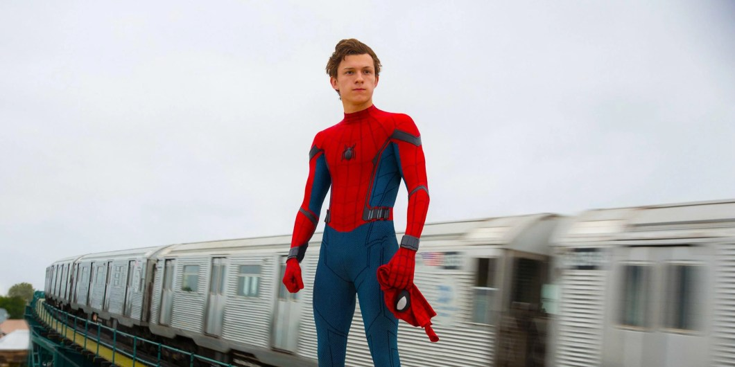Image result for spiderman homecoming tom holland