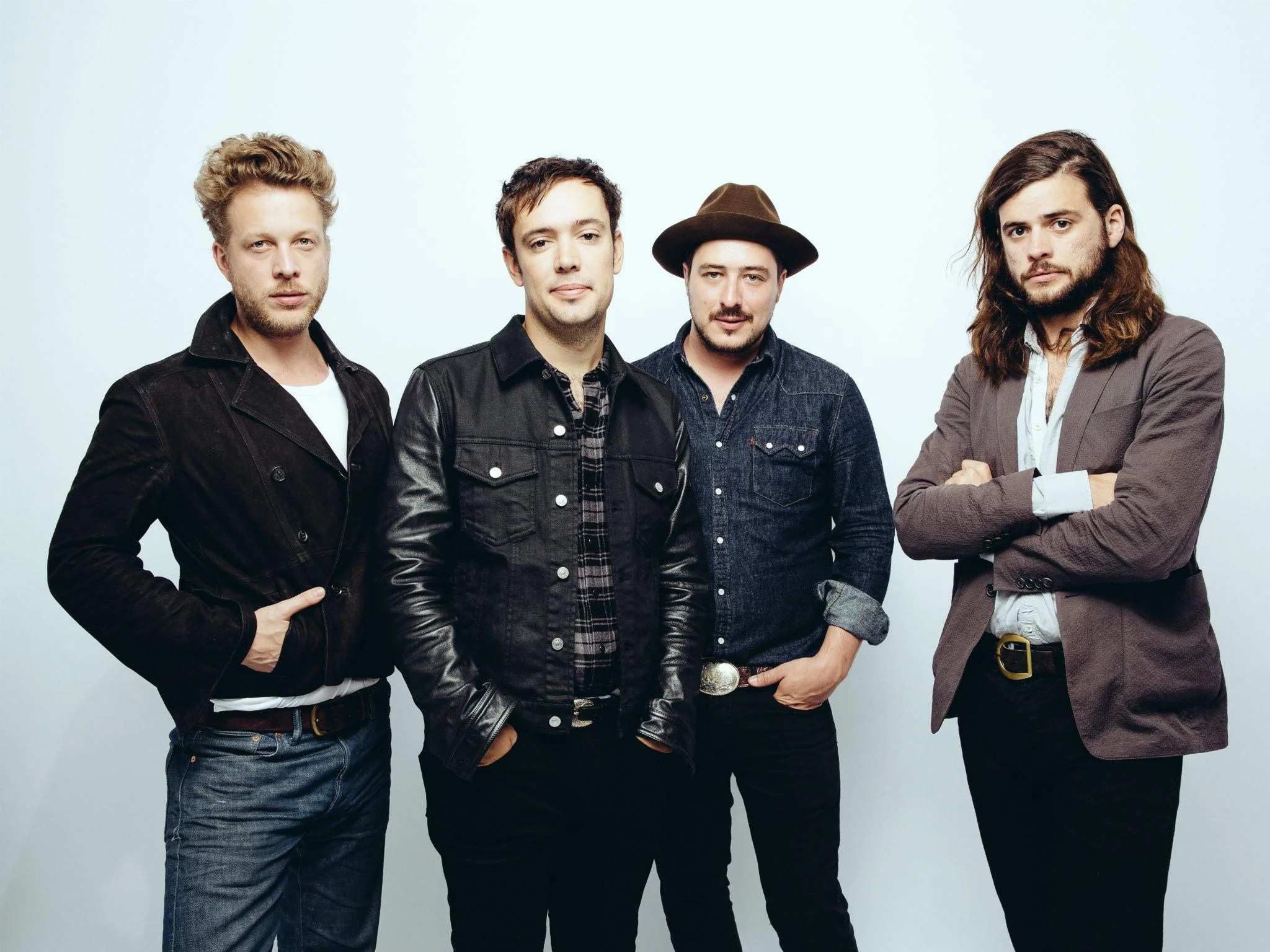 Mumford   Sons on Latitude  U2  and the return of the banjo   The     Mumford   Sons  Left to right   Ted Dwane  Ben Lovett  Marcus
