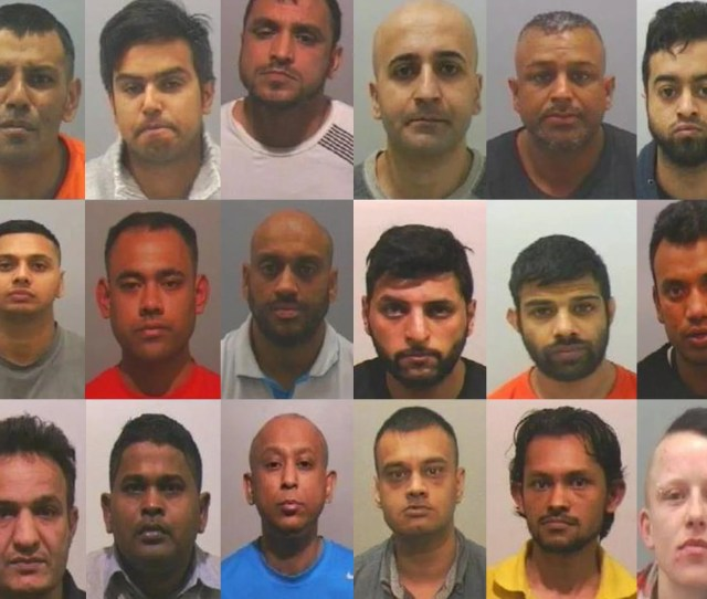 A Total Of 17 Men And One Woman Have Been Convicted Of Offences Including Rape