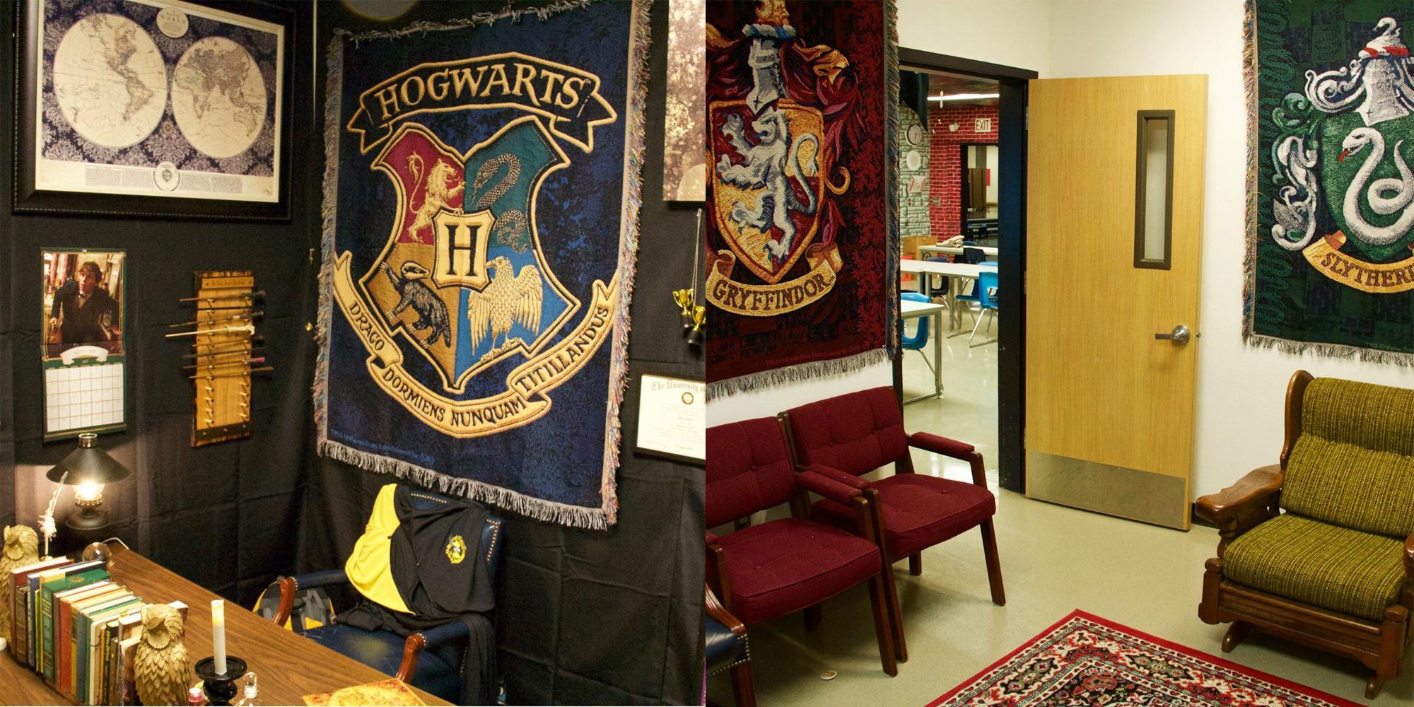 Teacher Spends Week Creating Incredible Harry Potter