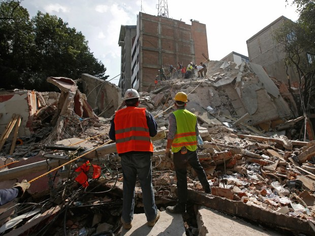 Image result for mexico city earthquake