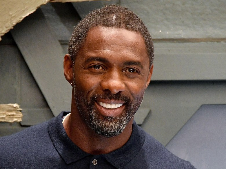 Image result for idris elba lived in a van