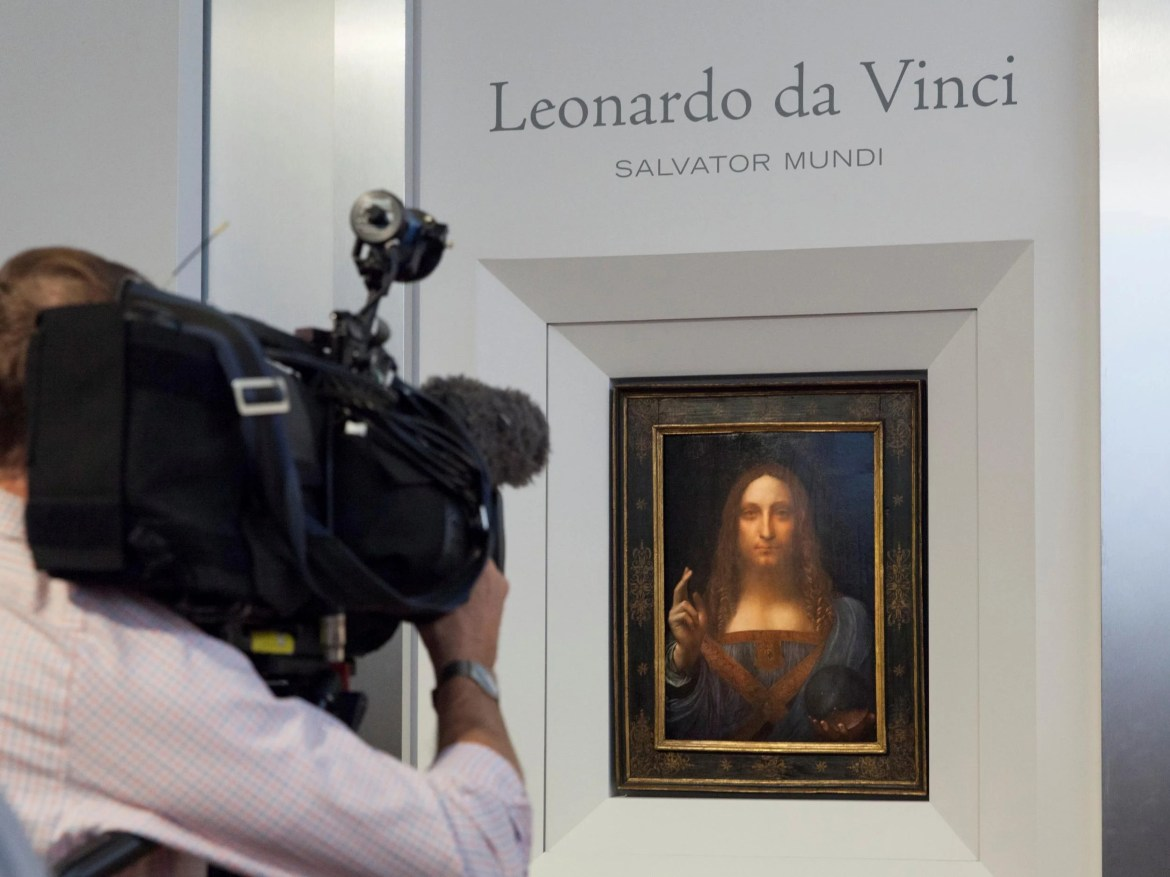 da vinci jesus - Leonardo Da Vinci painting of Jesus Christ acquired by Louvre Abu Dhabi in record $450m deal