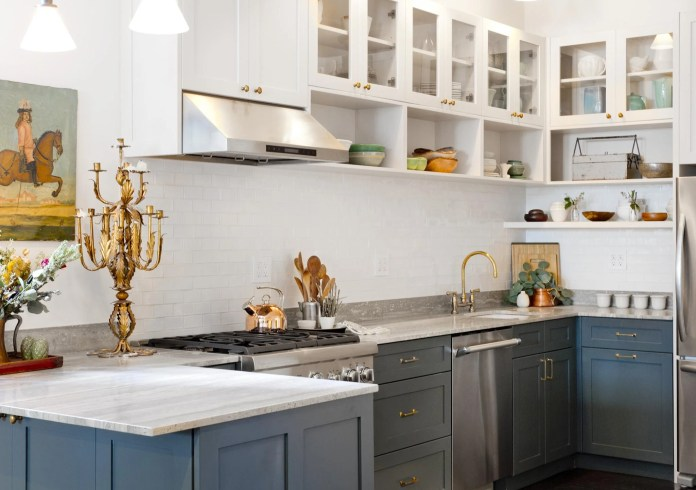Although White Will Always Be A Classic Colour For Kitchen Design Homeowners Are Shying Away