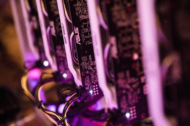 <p>GPU processors used to mine Ethereum, the second-largest cryptocurrency</p>