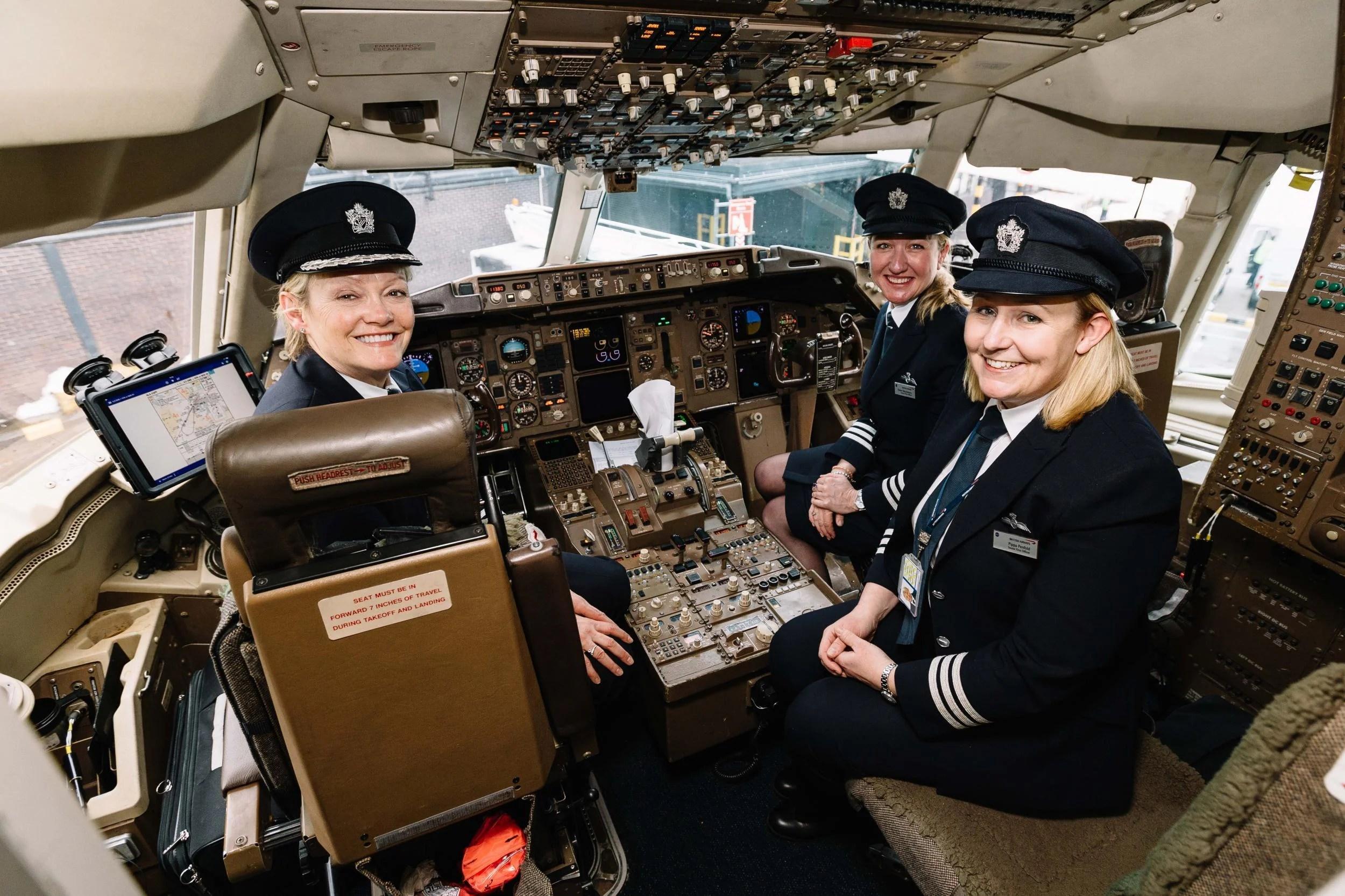 International Women S Day Four Female Pilots Discuss Life