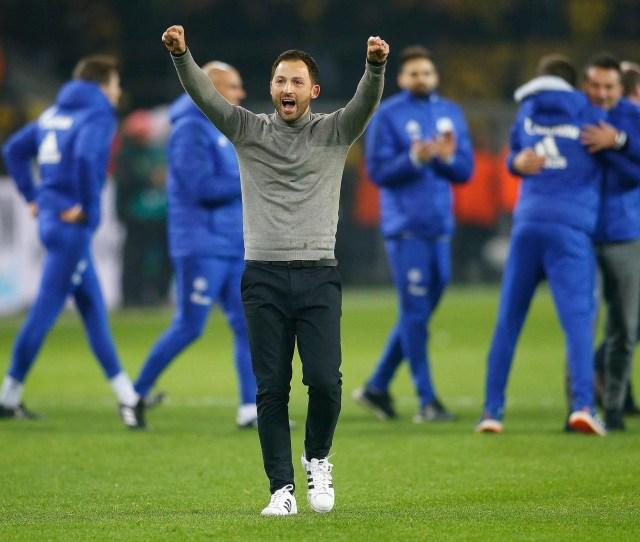 Tedesco Celebrates Schalkes Remarkable Comeback Against Dortmund