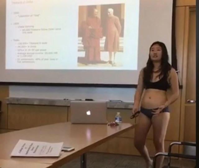 Student Presents Thesis In Underwear After Professor Says Her Shorts Are Too Short The Independent