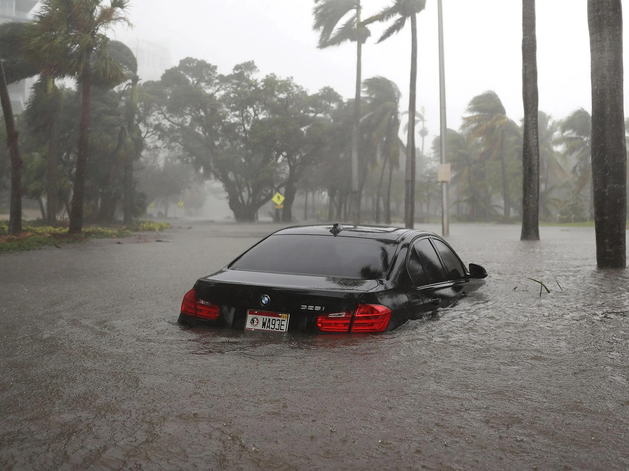 Coastal cities like Miami have already experienced serious flooding thanks to recent hurricanes, and researchers warn that inundation with water could endanger the region's internet infrastructure