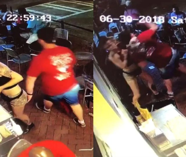 Man Gropes Waitress In Restaurant So She Slams Him Into The Trash Indy