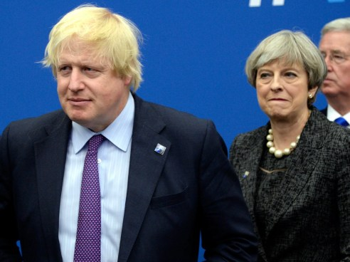 Bildergebnis für Theresa May's Brexit Agreement is Utterly Unacceptable, says Boris Johnson