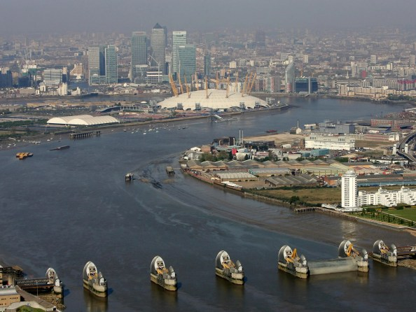 The UK capital is increasingly vulnerable as a result of sea level rises and will have to use its main flood defence, the Thames Barrier, more frequently