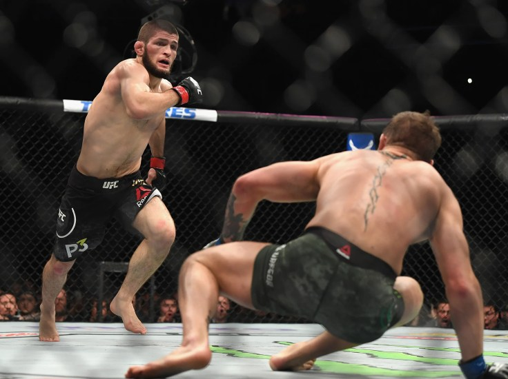 Image result for khabib conor round 2