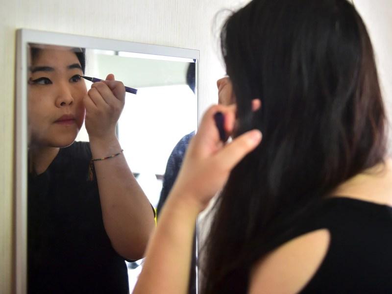 South Korean Women Destroying Makeup In