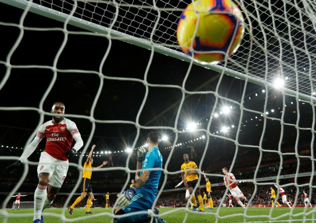 Image result for arsenal 1-1 wolves