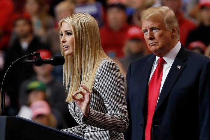 Democrats eager looking to take on Trump administration are allegedly already laying out lines of inquiry leading to Donald Trump's immediate family
