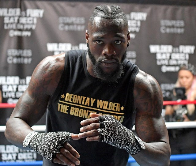 Wilder Is Ready For The Biggest Test Of His Career Getty Images