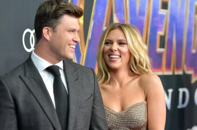Scarlett Johansson announces she's engaged to SNL host Colin Jost