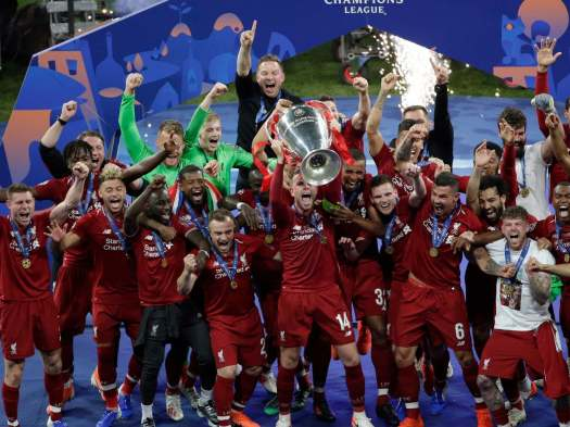 Liverpool win Champions League: Mohamed Salah and Divock ...