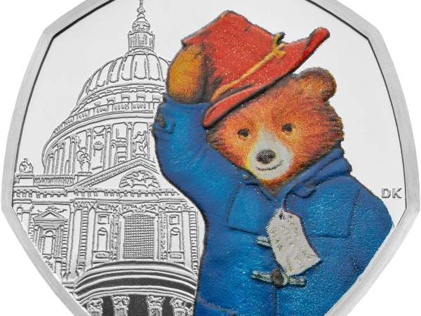 paddington bear 50p coins # 56