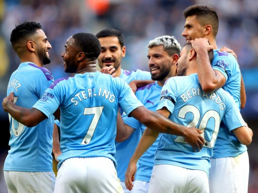 Manchester City vs Brighton result: Aguero at the double ...