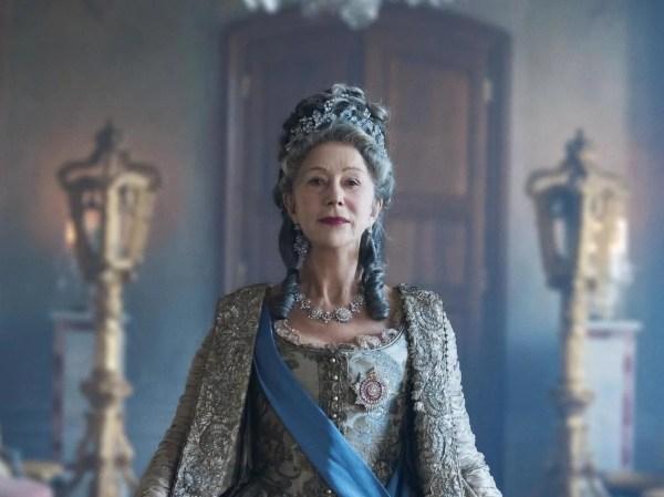 Helen Mirren is fabulous as Catherine the Great in Sky