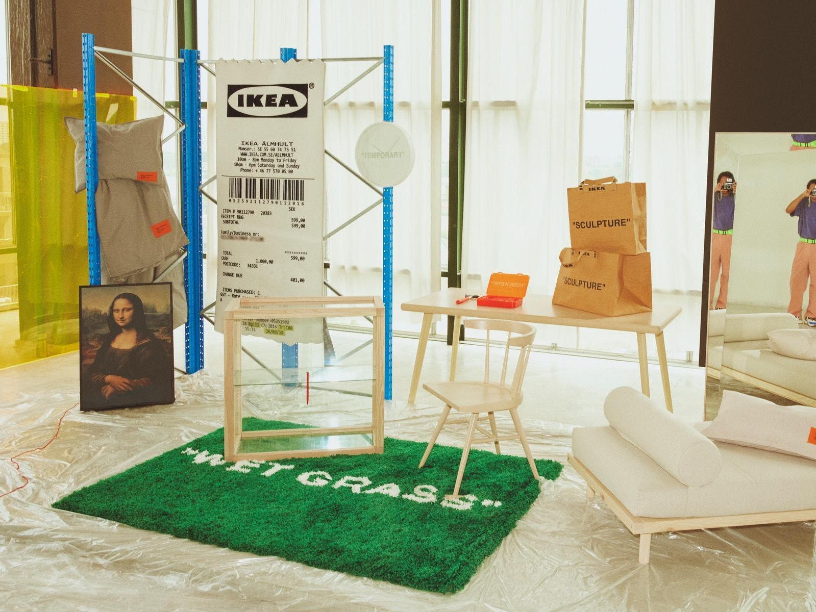 Ikea Teams Up With Louis Vuitton Creative Director Virgil