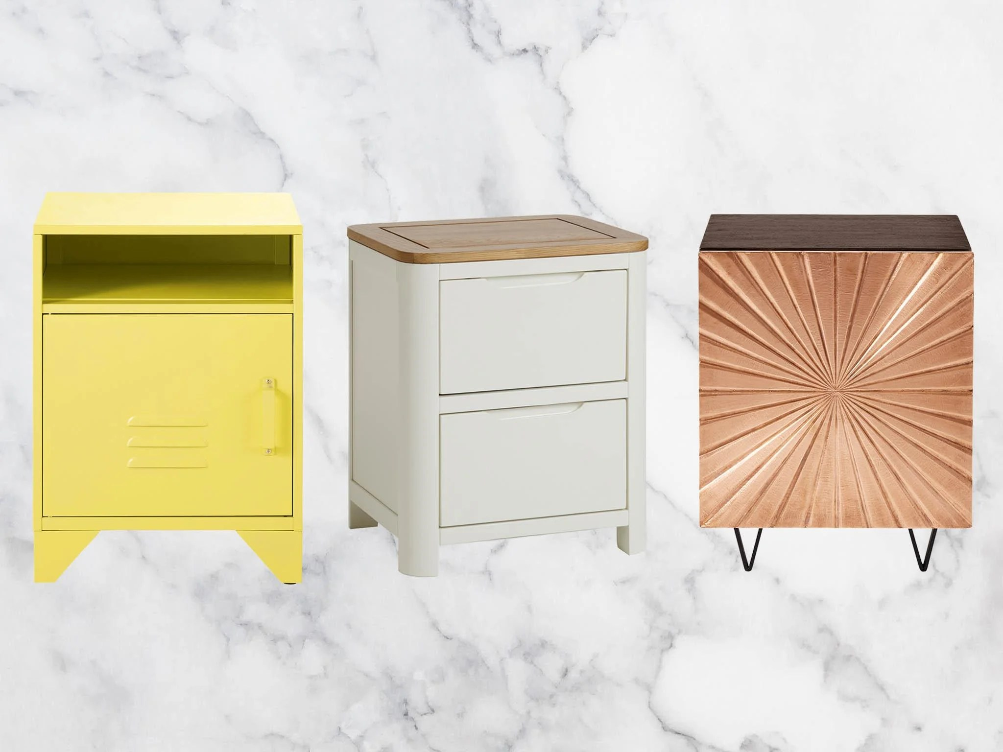 9 Best Bedside Tables To Keep Your Alarm Clock Lamp And