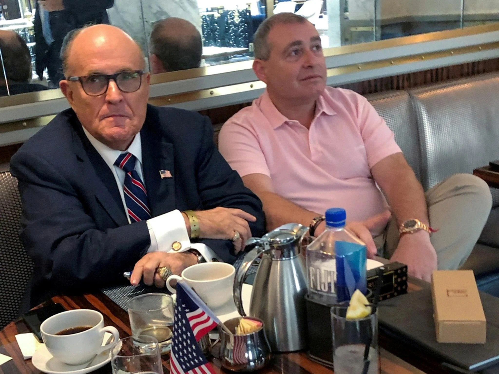 "Trump ""knew exactly what was going on"" during the Ukrainian plot, says accused colleague Giuliani"