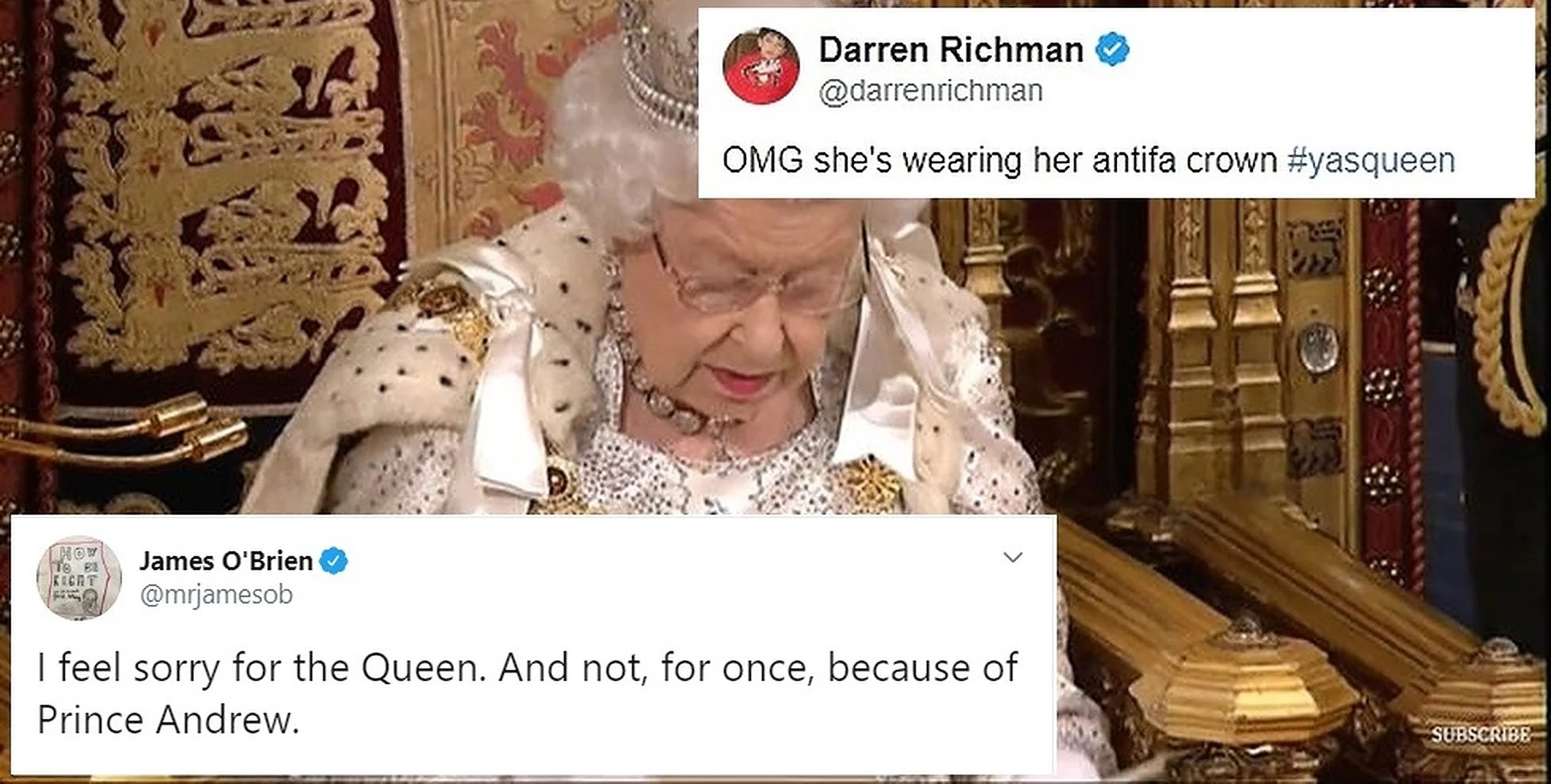 Queen S Speech 15 Of The Funniest Memes And Tweets Indy100