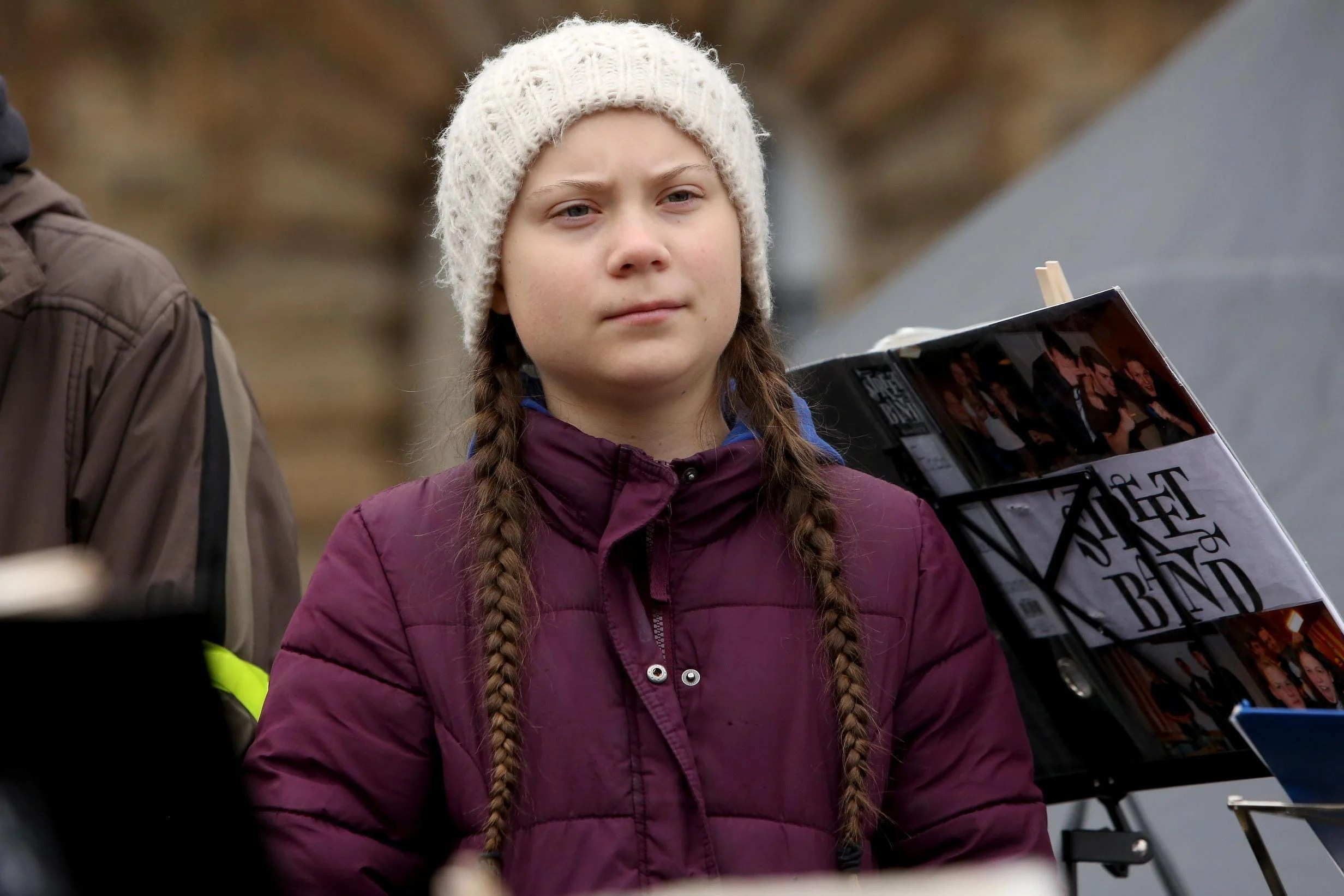 Pictures Of Greta Thunberg Are Being Used To Shame Office Workers
