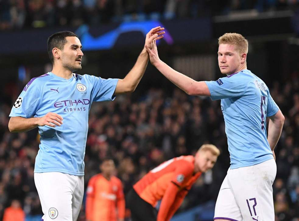 Man City vs Shakhtar result: Ilkay Gundogan helps clinch top spot | The Independent | The Independent