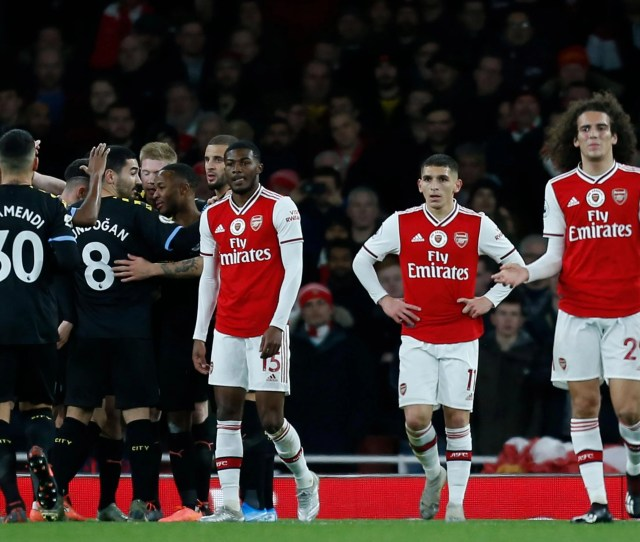 Arsenal Vs Man City Result Gunners Left In Need Of Firm Hand