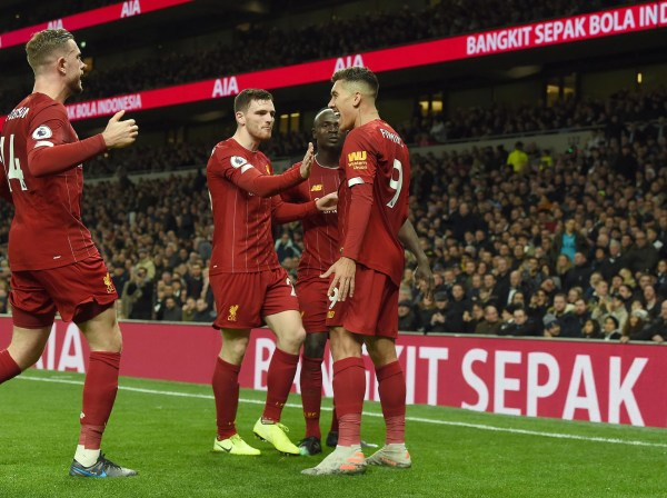 Relentless Liverpool extend Premier League lead by beating dour Spurs