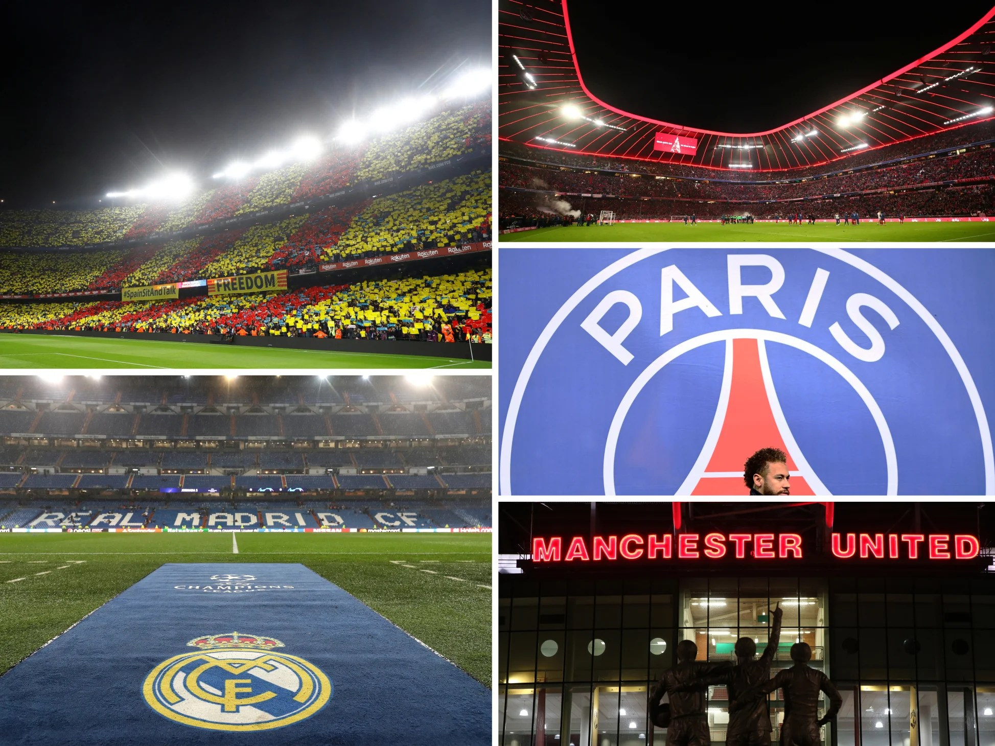 Richest football teams: Barcelona, Liverpool and other classified European giants