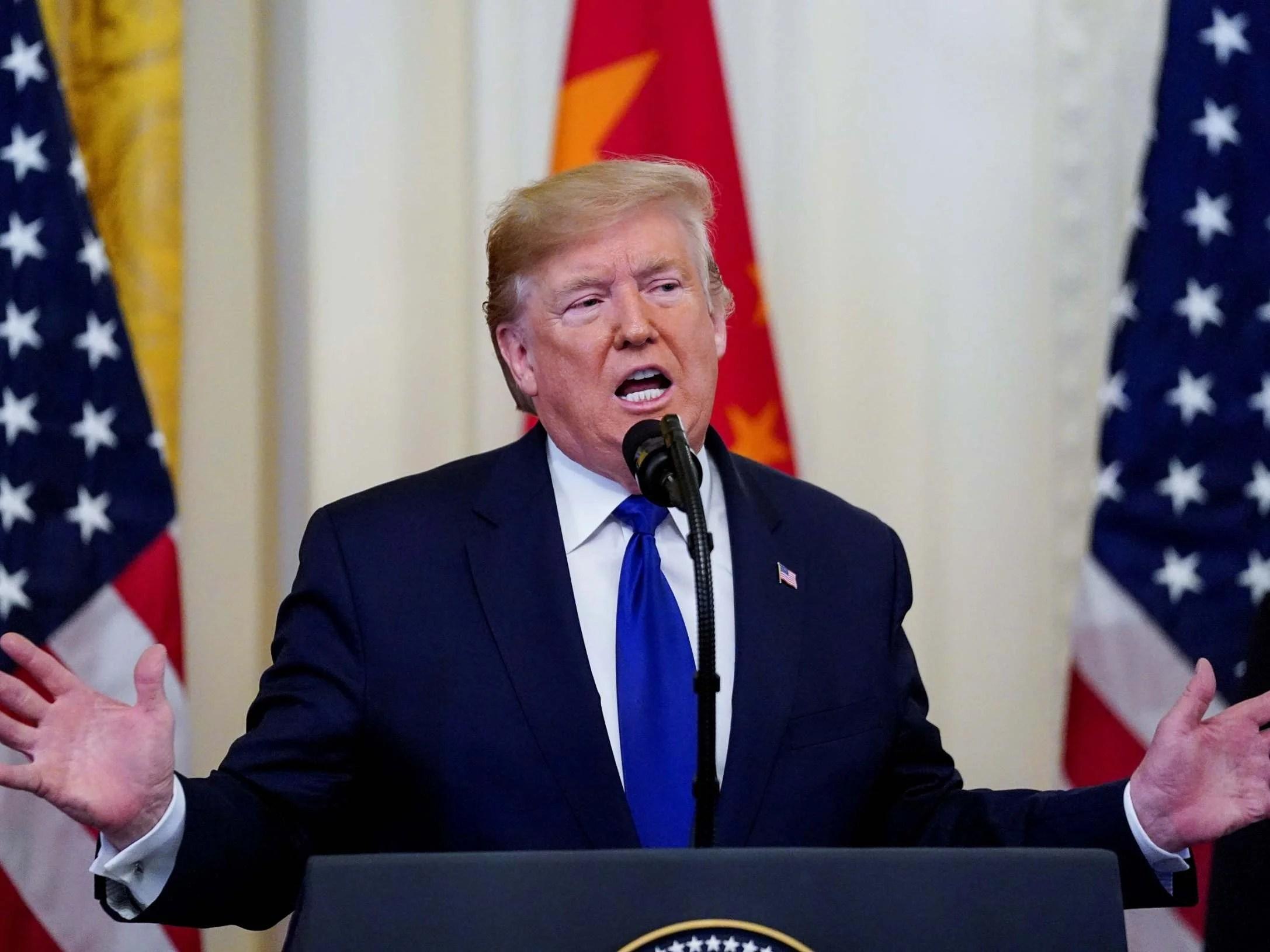 "Trump news live: latest impeachment updates as ""dangerously uninformed"" president faces Senate trial"