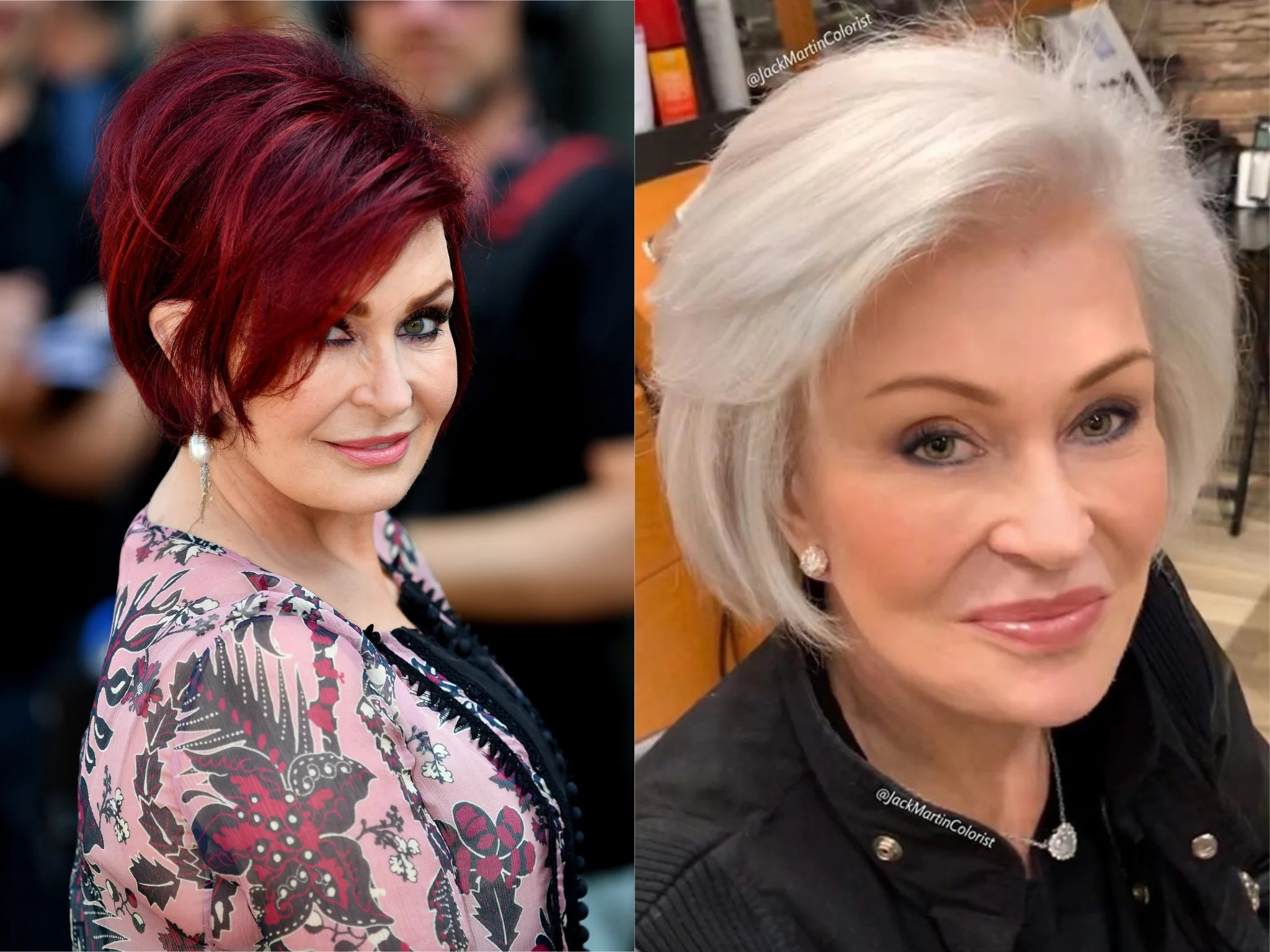 Sharon Osbourne Transforms Hair From Red To Platinum With Jane Fonda S Colourist The Independent The Independent