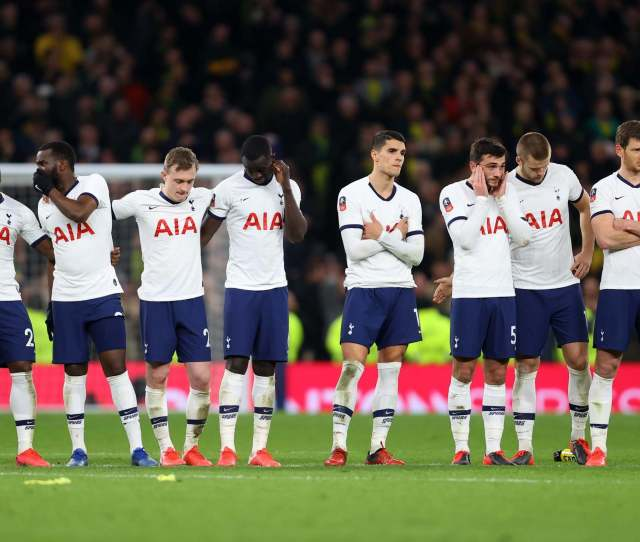 Tottenham Vs Norwich Result Rating Every Players Performance As