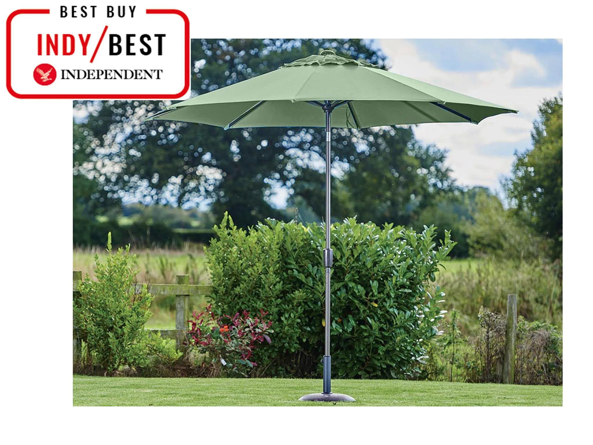 best garden parasols freestanding