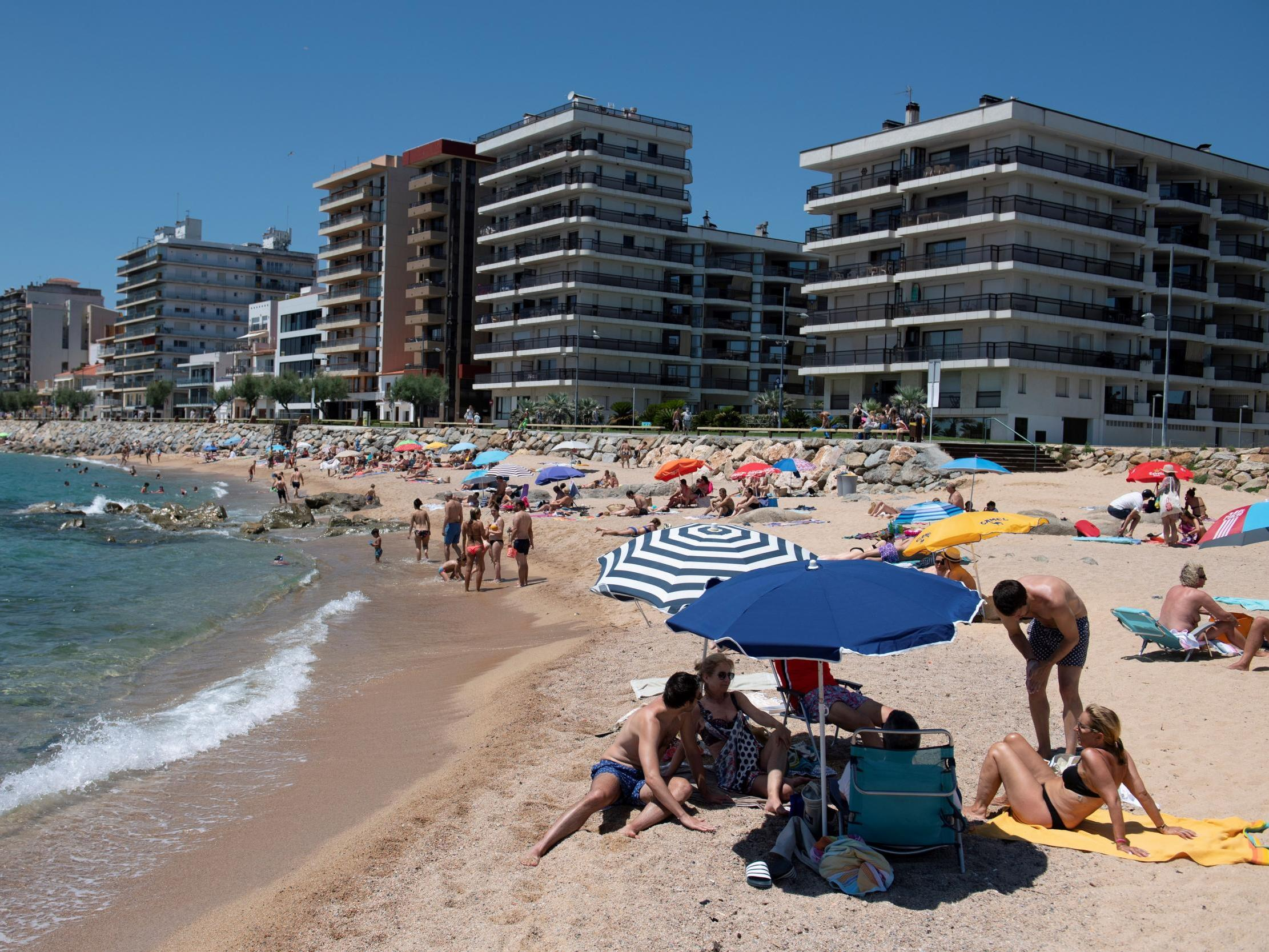 Coronavirus: Popular Spanish beaches 'forced to close due to overcrowding' 2
