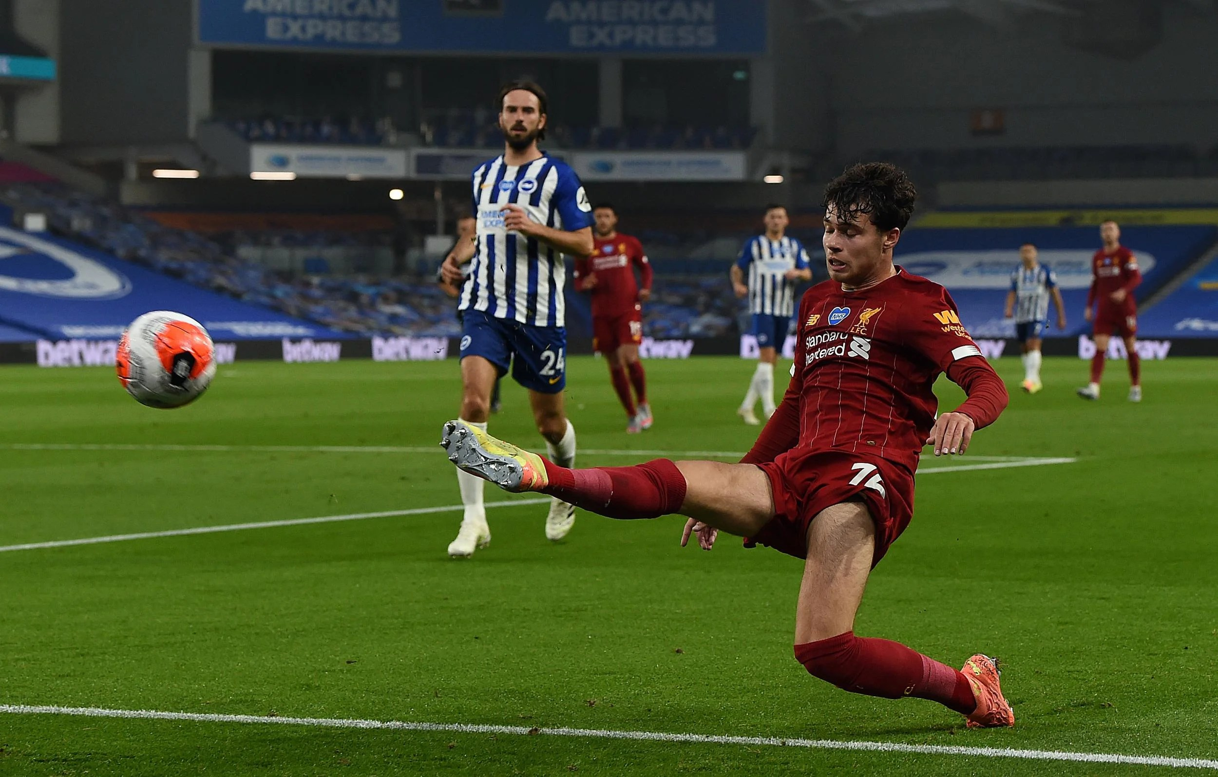 Jurgen Klopp pleased with Liverpool debutant Neco Williams despite half-time substitution 6