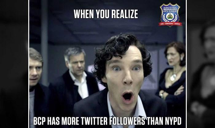 Bengaluru Police Celebrates 1 Million Twitter Followers With