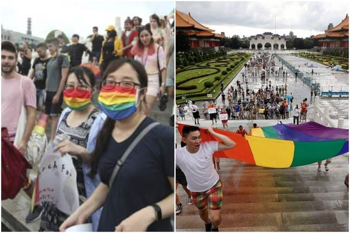 Taiwan Hosts the World's Only LGBT Pride Parade Amid Pandemic, Over 1000 People Attend | See Pics 4