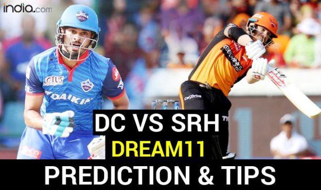 DC vs SRH Dream11 Team Hints And Predictions, Captain And Vice-Captain, Fantasy Cricket IPL 2020: Delhi Capitals vs Sunrisers Hyderabad, Match 11 Sheikh Zayed Stadium, Abu Dhabi at 7:30 PM IST Tuesday September 29