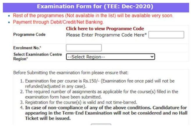 IGNOU December TEE 2020 Application Dates Extended At ignou.ac.in, Register by 31st December